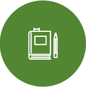writing test icon